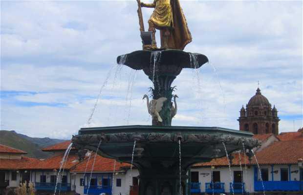 Estatua de inca