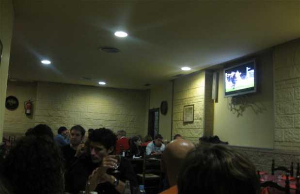 The Bocadí bar