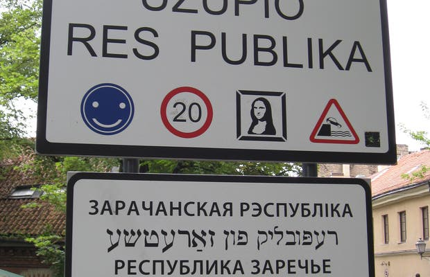Barrio de Uzupis