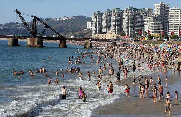 Playa Acapulco, Viña del Mar
