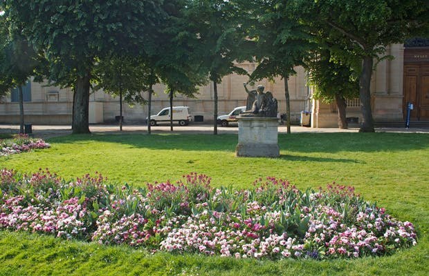 Jardines del Hotel de Ville