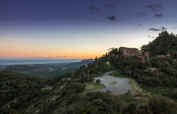 Mirador del Castell Monestir d'Escornalbou
