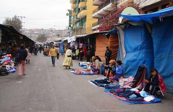 Marché de Cochabamba