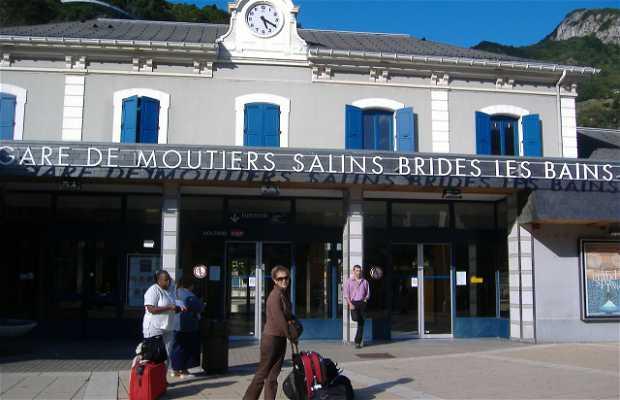 Moûtiers-Salin Station