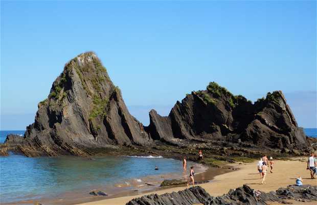 Playa de Mendaro Hondarrivia