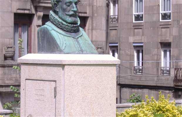 Estatua de Luis de Camoens