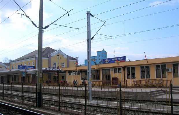 Trenuri statia - Estación de Tren de Alba Iulia