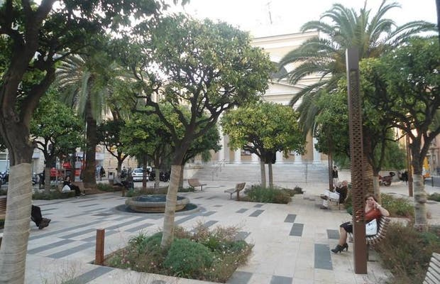 Plaza de la iglesia del deseo