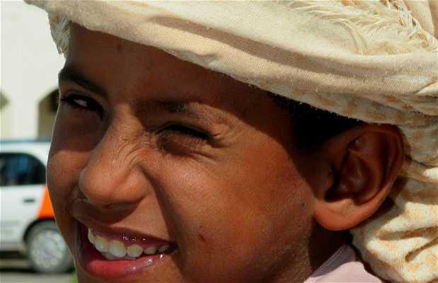 Oman's faces