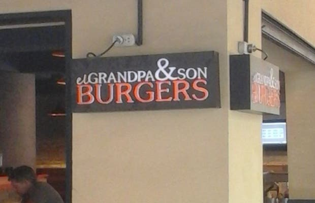 El Grandpa & Son Burgers