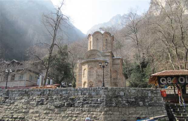 Iglesia de Sv Andreja en Matka