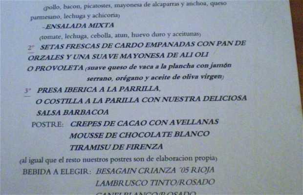 Restaurante Brasería La Cabaña