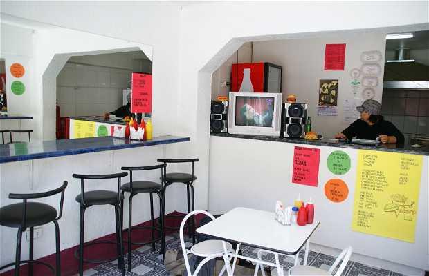 Sandwicheria Dayana, Calama, Chili