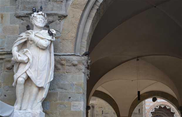 Estatua de Torquato Tasso