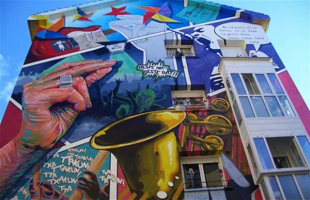 Murales a Vitoria-Gasteiz