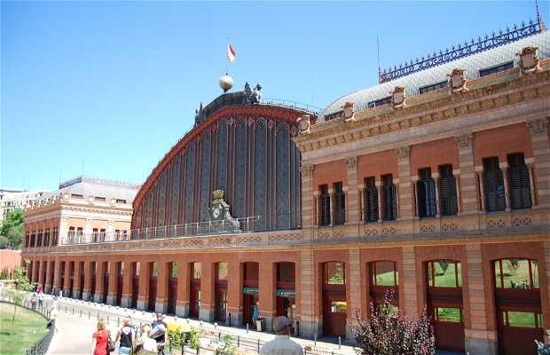 Estación atocha - Stazione ferroviaria di Atocha