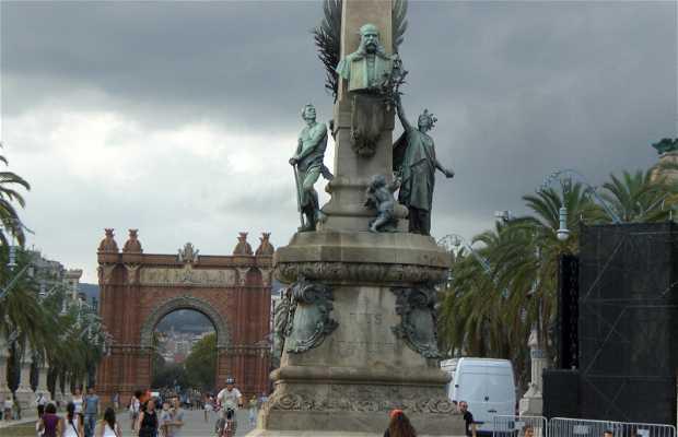 Monument to Rius i Taulet