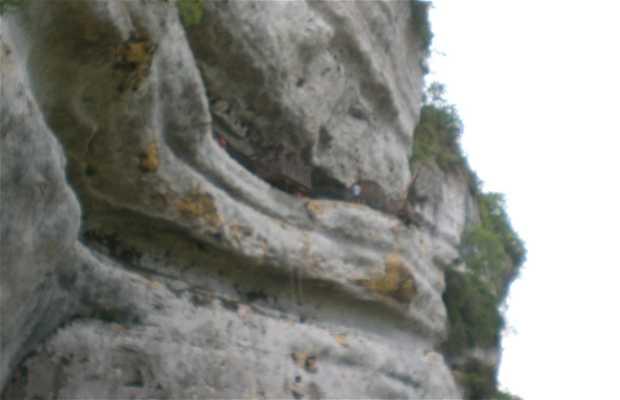Ciudad Troglodita de la Roque Saint Chistophe
