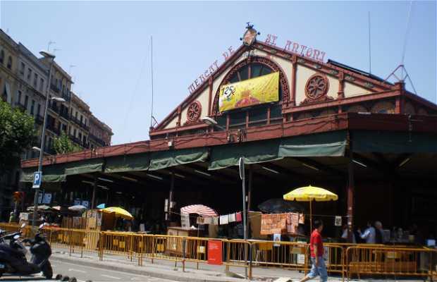 Mercat de Sant Antoni - Mercado de San Antonio