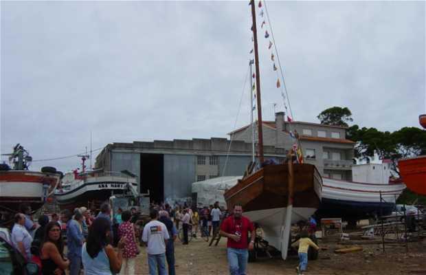 Botadura Barco en Galicia