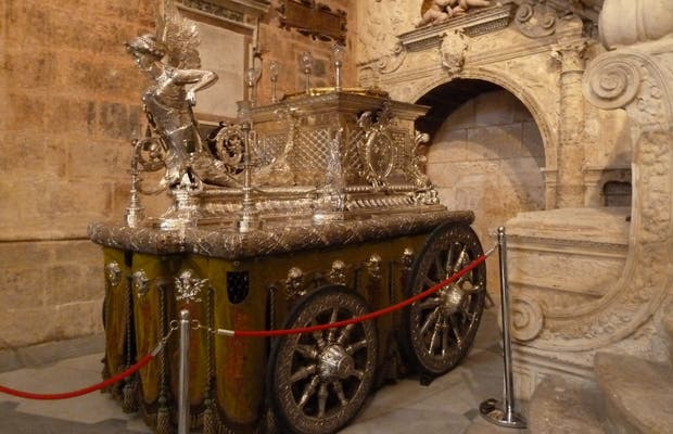 Carroza procesional del Corpus Christi