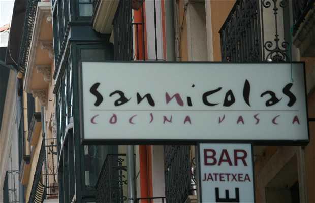 San Nicolás La Cocina Vasca