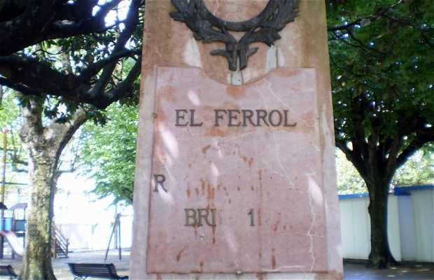 Monument to Xaime Quintanilla