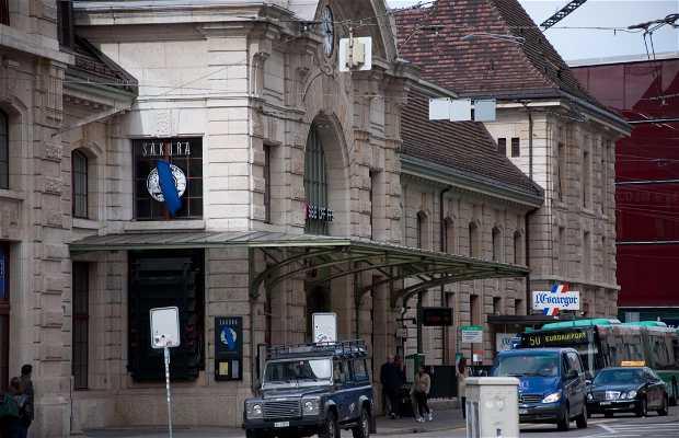 Estación de Tren de Basilea SNCF