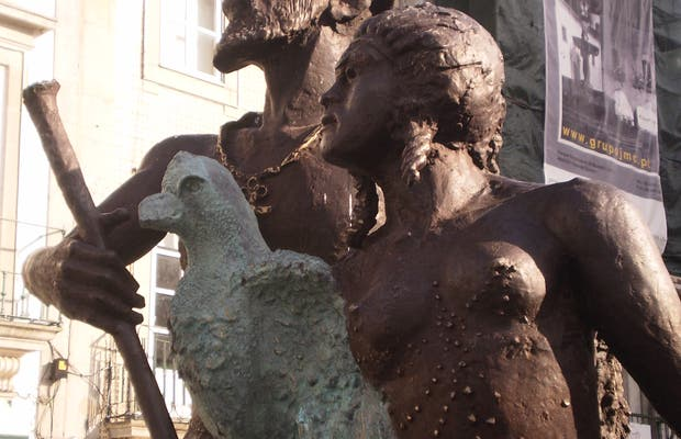 Escultura de Caramuru