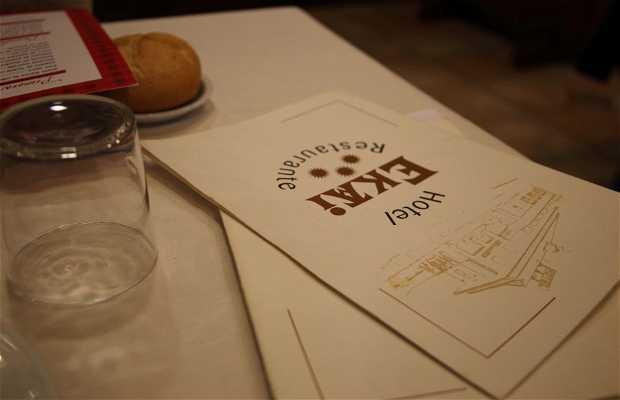 Restaurante Hotel Ekai