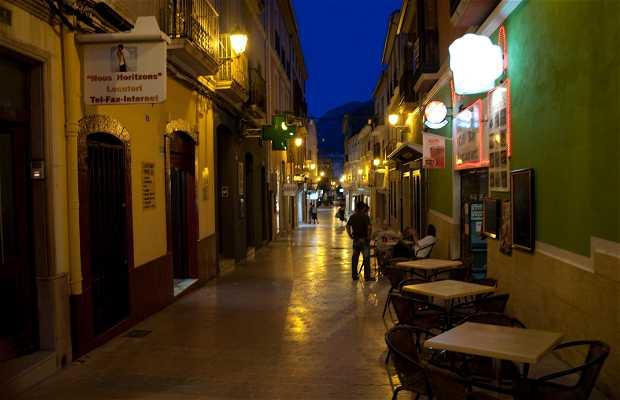 Rues de Denia