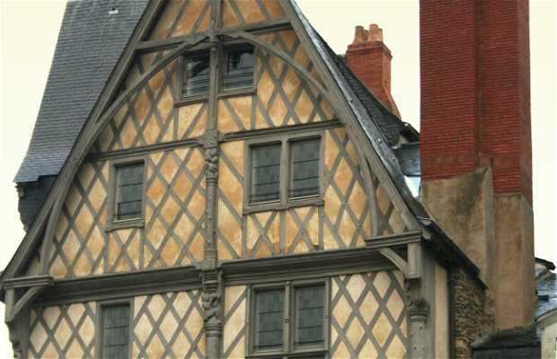 Maison médiévale à Rennes