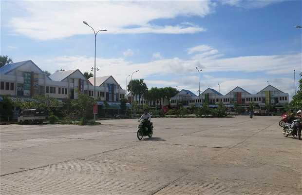 Estación de bus de Bagan
