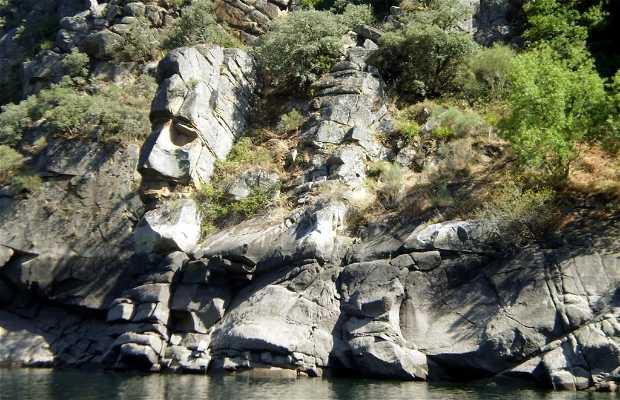 Formas rocosas del cañón del Sil