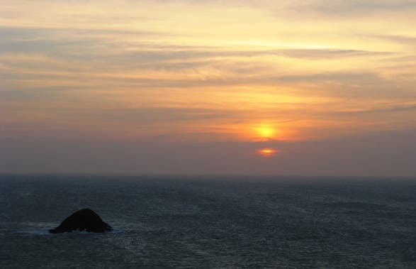 Sunset at Vela Cape