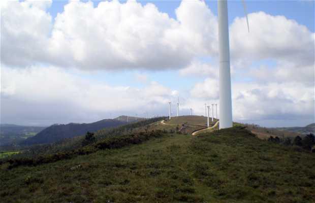Parco eolico della Coriscada a Mañón