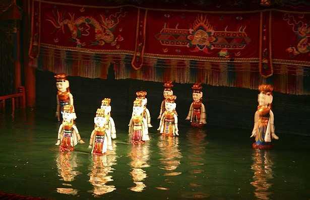 Teatro de Marionetes Aquático de Thang Long