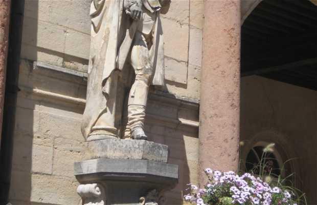 La statue de Devosge