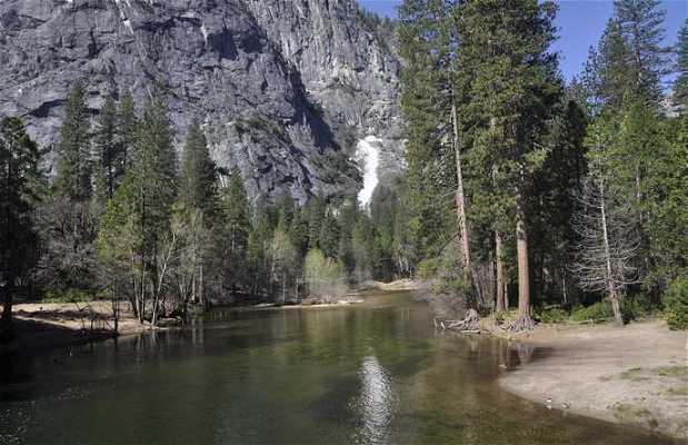 Lower Falls à Yosemite