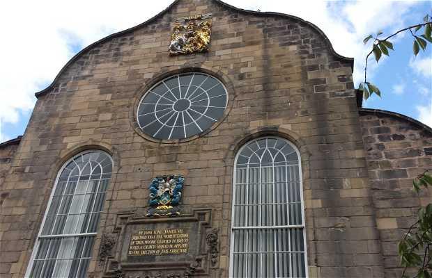 La iglesia de Canongate