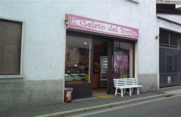 Ice-cream shop Gelato del Borgo
