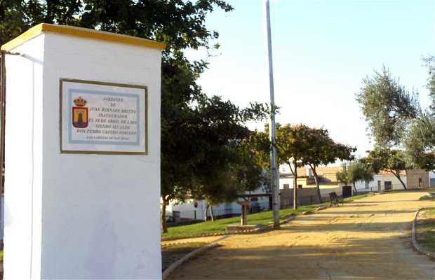 Jardines de Juan Bernabé Britto