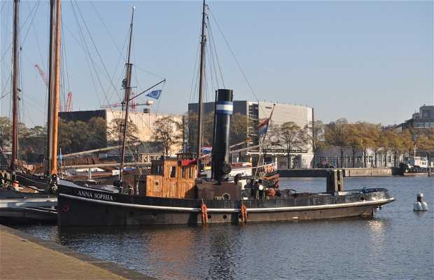Barcos En Amsterdam