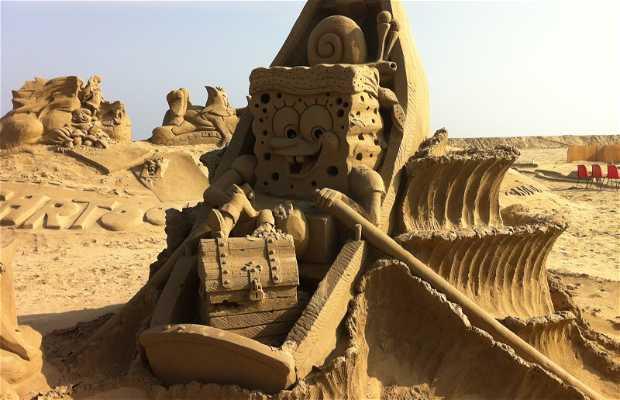 Estatuas de arena