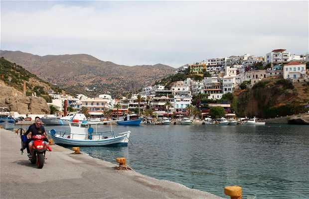 Puerto de Agia Galini