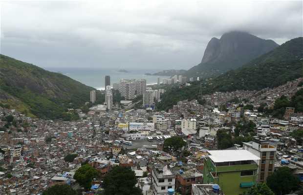 Un mirador en una favela