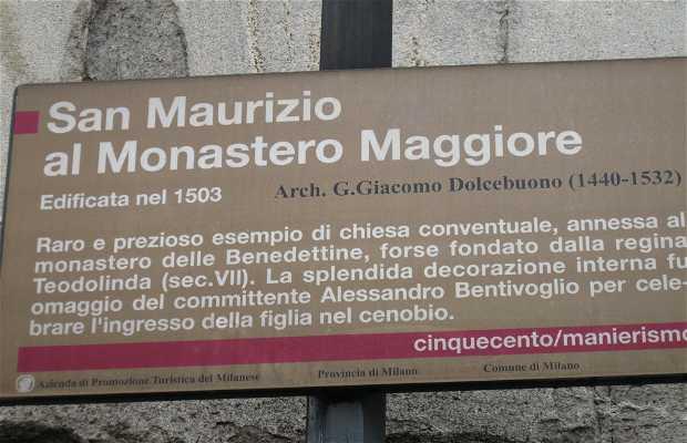 Iglesia de San Maurizio al Monastero Maggiore