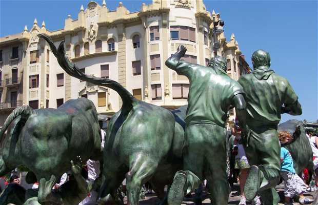 Monument to the Encierro