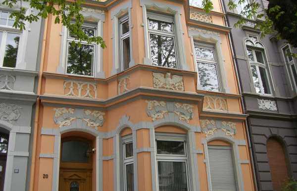Parte antiga de Bonn