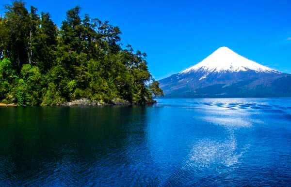 Port Varas, Volcano Osorno y Calbuco